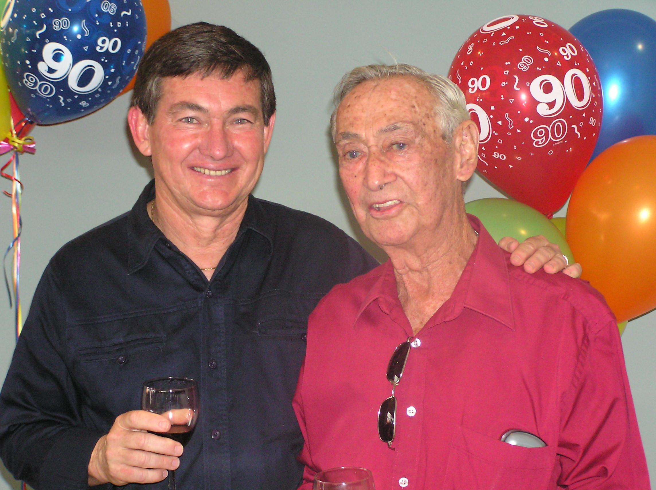Wally and Eric Foreman
