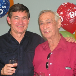 Wally and Eric Foreman, 2005.