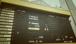Phillip Hughes: 63 not-out forever.